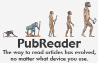 PubReader: The way to read articles has evolved, no matter what device you use.