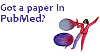 Got a paper in PubMed?